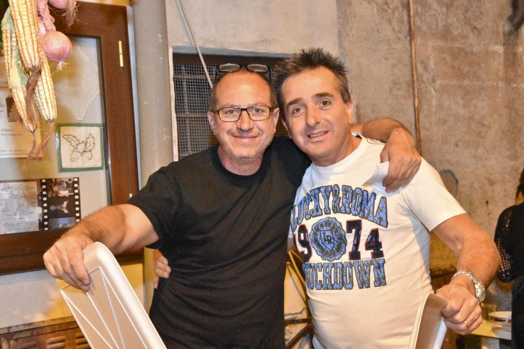 """Mauro & Mauro durante la """"Sagra dell'Uva"""" 2016"""