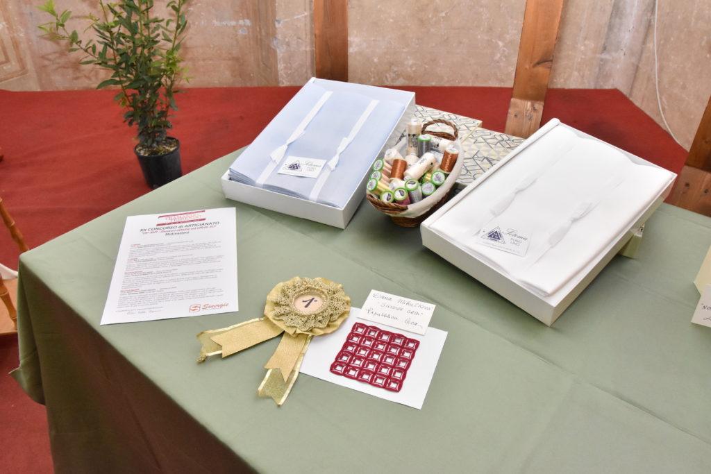 Il tavolo del 1° premio