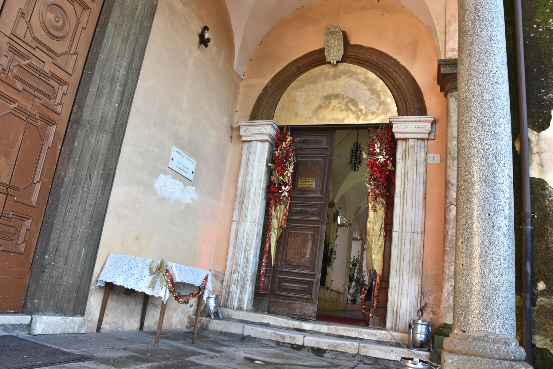 L'ingresso del Chiostro